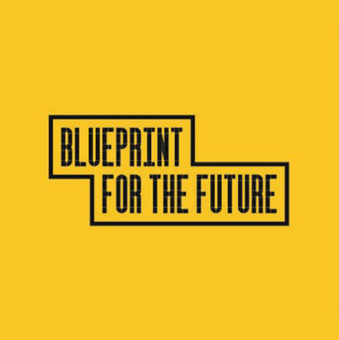 Blueprint for the future: logo